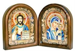 Венчальная пара, дивеевская икона (цветное) - фото 4900