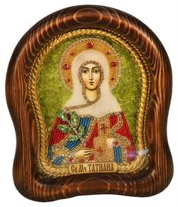 Татьяна Святая мученица, дивеевская икона из бисера - фото 4929
