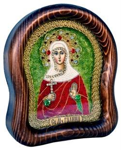 Галина Святая мученица, дивеевская икона из бисера - фото 4933