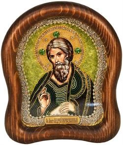 Андрей Апостол, дивеевская икона из бисера ручной работы - фото 5016