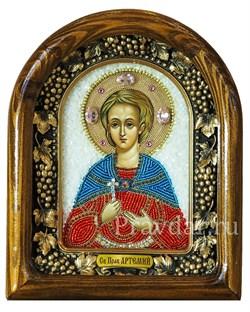 Артемий Веркольский, дивеевская икона бисером - фото 5242