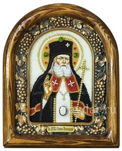 Лука Войно-Ясенецкий Святитель, дивеевская икона из бисера ручной работы - фото 5244