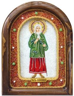 Ксения Петербургская, дивеевская икона из бисера - фото 5255