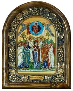 Вознесение Господне дивеевская икона из бисера - фото 5424