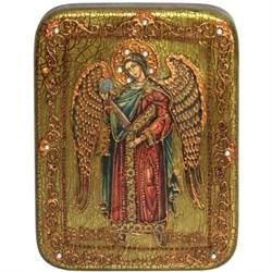 Гавриил Архангел икона ручной работы под старину - фото 5638