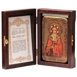Григорий Богослов Святитель икона ручной работы под старину - фото 5678