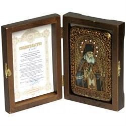 Лука Войно-Ясенецкий Святитель Крымский икона ручной работы под старину - фото 5769