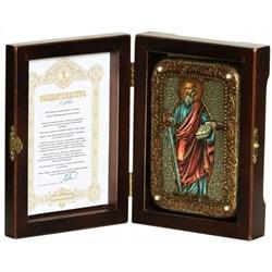 Павел Апостол икона ручной работы под старину - фото 5825