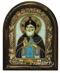 Александр Свирский, дивеевская икона из бисера ручной работы - фото 5944