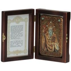 Спиридон Тримифунтский икона ручной работы под старину - фото 5977