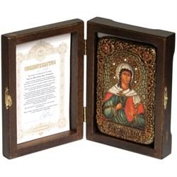 Алла Святая мученица икона ручной работы под старину - фото 6019