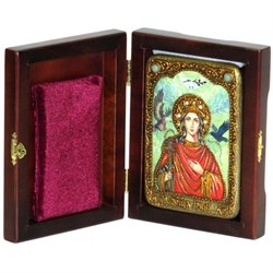 Ирина Македонская икона ручной работы - фото 6099