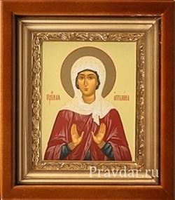 Ангелина икона в киоте 16х19 см - фото 6757