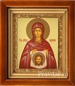 Вероника Святая мученица, икона в киоте 16х19 см - фото 6774
