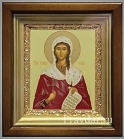 Виктория (Ника) Святая мученица, икона в киоте 16х19 см - фото 6776