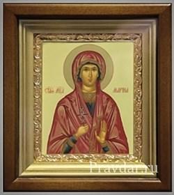 Марина Святая мученица, икона в киоте 16х19 см - фото 6804