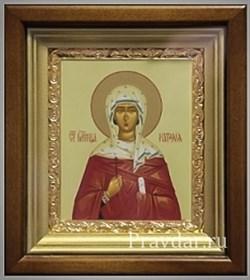 Наталия Святая мученица, икона в киоте 16х19 см - фото 6814