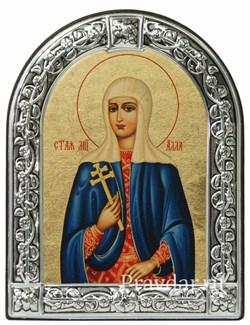 Алла Святая мученица, икона с серебряной рамкой - фото 6918
