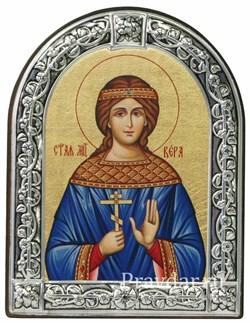 Вера Святая мученица, икона с серебряной рамкой - фото 6926