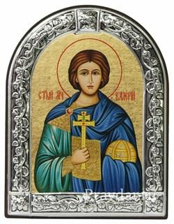 Валерий Святой мученик, икона с серебряной рамкой - фото 6982