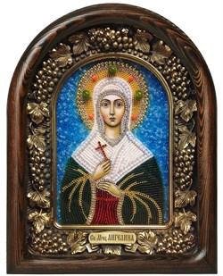 Ангелина Святая мученица, дивеевская икона из бисера - фото 7213