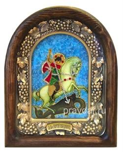 Георгий Святой Великомученик, дивеевская икона - фото 8432