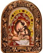 Касперовская Божья Матерь, дивеевская икона из бисера ручной работы