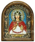 Ирина Македонская, дивеевская икона из бисера