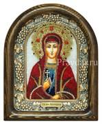 Валерия (Калерия) Святая, дивеевская икона из бисера