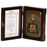 Игорь Святой благоверный князь икона ручной работы под старину