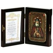 Илия Муромец Преподобный икона ручной работы под старину