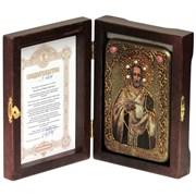Иоанн Златоуст икона ручной работы под старину