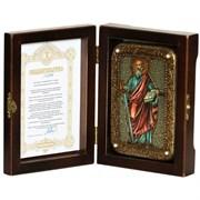 Павел Апостол икона ручной работы под старину
