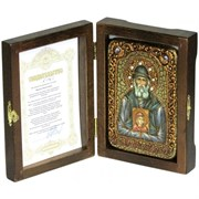 Паисий Святогорец икона ручной работы под старину
