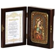 Мария Магдалина икона ручной работы под старину