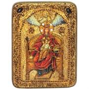 Державная образ Божьей Матери, икона на мореном дубе