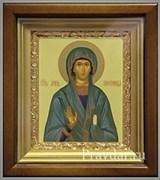 Анна Пророчица икона в киоте 16х19 см