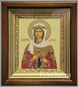 Варвара Святая мученица, икона в киоте 16х19 см