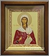 Виктория (Ника) Святая мученица, икона в киоте 16х19 см