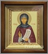 Евгения Святая мученица, икона в киоте 16х19 см