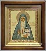Елизавета Святая мученица, икона в киоте 16х19 см