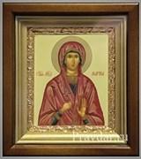 Марина Святая мученица, икона в киоте 16х19 см
