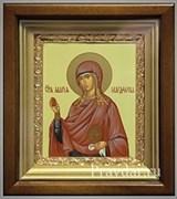 Мария Магдалина, икона в киоте 16х19 см