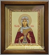 Раиса (Ираида) Святая мученица, икона в киоте 16х19 см
