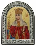 Александра Римская, икона с серебряной рамкой