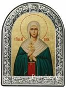 Дария Святая мученица, икона с серебряной рамкой