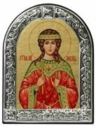 Любовь Святая мученица, икона с серебряной рамкой