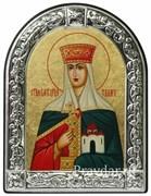 Тамара Святая царица, икона с серебряной рамкой