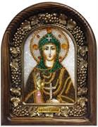 София Святая Преподобная, дивеевская икона из бисера
