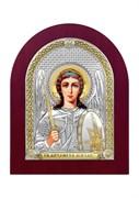 Михаил Архангел, серебряная икона деревянный оклад